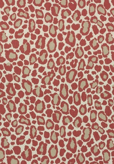 Anna French Thibaut leopard fabric