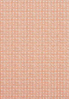 Thibaut orange fabric 1