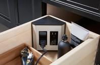 corner outlet