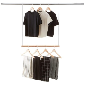 college - double hang rod