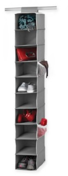 college - hanging shoe storage