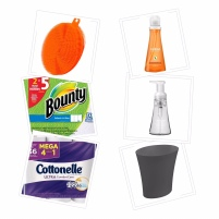 moving - cleaning supplies