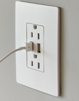 legrand usb outlet