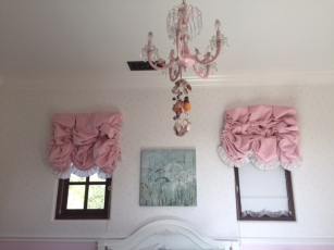 Olivia's Room bed elevation