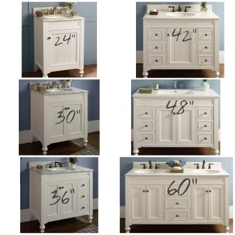 cabinet width